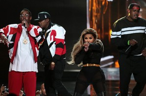 Diddy And The Fam Come Together For A Bad Boy Reunion At The BET Awards! (Video)