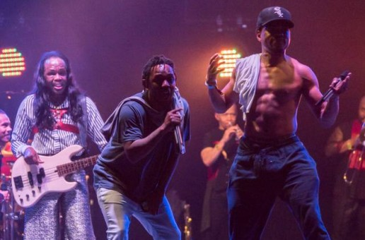 Kendrick Lamar & Chance The Rapper Join Earth, Wind & Fire At Bonnaroo (Video)