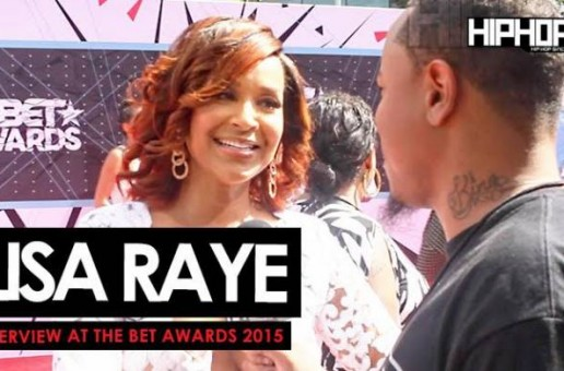 Lisa Raye Talks 'Single Ladies', Her Upcoming Film 'No More Mr. Nice Guy', Her Project 'Life Rocks' & More With HHS1987 On The BET Red Carpet (Video)