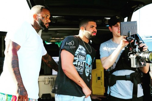 "The Game & Drake Go Behind The Scenes For New Video, ""100"""