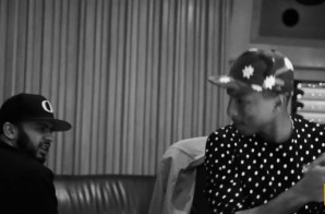 "Pharrell & OverDoz Hit The Studio To Record ""Last Kiss"" (Video)"