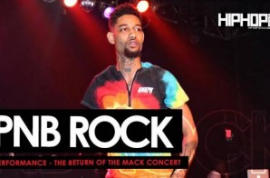 PnB Rock Performs Live at The Return of the Mack Concert (6/6/15) (Video)