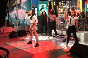 "Tinashe Visits 'Good Morning America' & Performs Her Latest, ""All Hands On Deck"" (Video)"