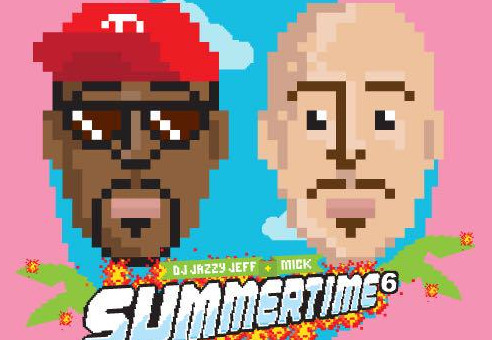 DJ Jazzy Jeff x MICK – Summertime Mixtape Vol 6