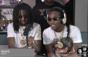 Migos Talks New Album, Being Underdogs & Challenges Anyone Bar For Bar On Ebro In The Morning