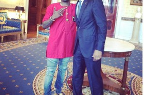 Wale Hangs Out With Barack Obama And Performs At The White House!