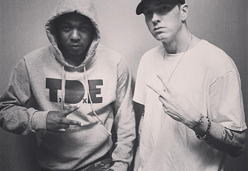 "Dr. Dre Recruits Kendrick Lamar And Eminem For ""Straight Outta Compton"" Soundtrack"