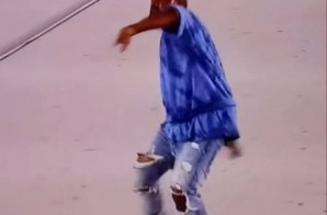 Kanye West Flings His Mic Into The Crowd & Walks Off Stage At Pan Am Games! (Video)