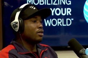 Meek Mill Appears On The Angie Martinez Show (Video)