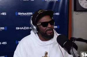 "R. Kelly Steps Up Next For The '5 Fingers Of Death"" Freestyle On Sway In The Morning (Video)"