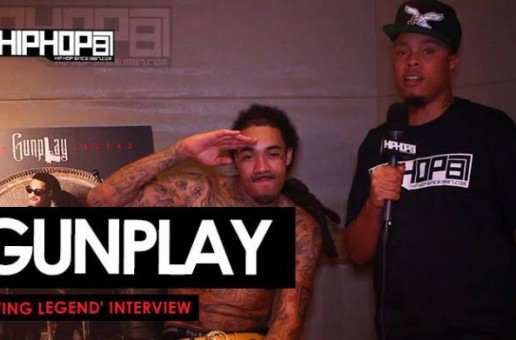 "Gunplay Talks 'Living Legend', His 3 Living Legends, ""WuzHaninDoe"" Ft. YG, Advice From Rick Ross, Meek Mill's #1 Album & More With HHS1987 (Video)"