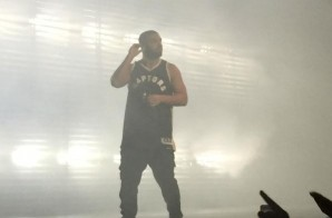 Drake Reveals The Toronto Raptors New 2015-16 Team Jerseys During OVO Fest (Photos)