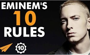 Eminem's Top 10 Rules For Success (Video)