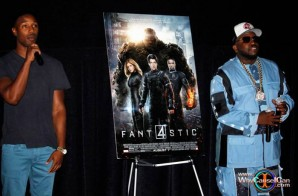 "Michael B. Jordan, Kate Mara, Jamie Bell Attend The Private ""Fantastic Four"" Movie Premiere In Atlanta (Photos)"