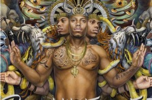 "B.o.B. Unveils Cover Art To Forthcoming Project, ""Psycadelik Thoughtz"""