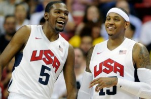 USA Basketball Men's National Team Minicamp Is Underway; Carmelo Anthony & Kevin Durant Will Practice