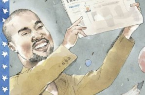 "Kanye West Covers ""The New Yorker Magazine"""