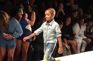 "Leah Still Graces The New York Fashion Week Runway During The ""Kids Rock Fashion Show"" (Photo)"