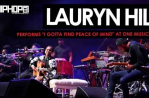 "Lauryn Hill Performs ""I Gotta Find Peace of Mind"" During One Music Fest 2015 (Video)"