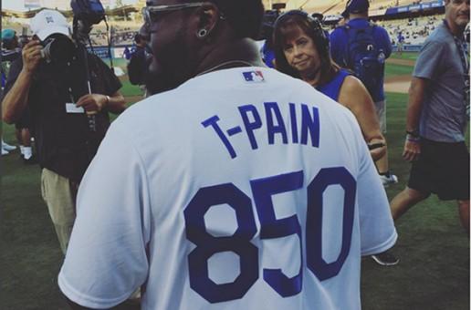 T-Pain Sings The National Anthem At The Dodgers Game (Video)