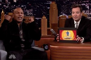 "Pure Comedy: Mike Tyson Covers Drake's ""Hotline Bling"" On The Tonight Show Starring Jimmy Fallon (Video)"