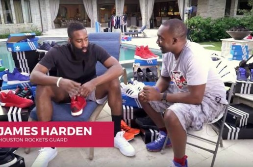 James Harden Talks His Adidas Partnership With Nice Kicks (Video)