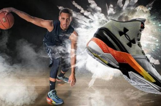 "Steph Curry & Jamie Foxx Star In Under Armour's New ""Flash"" Curry Two Ad (Video)"