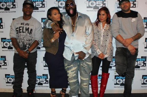 Rick Ross Talks His Engagement, Meek Mill vs Drake, New Album, & More On The Breakfast Club (Video)