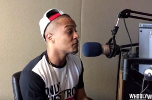 T.I. Says 'I Can't Vote For A Woman President', Then Quickly Apologizes!