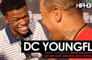 DC Young Fly Talks Stand Up Comedy, Films, Reaching Success From Social Media & More On The 2015 BET Green Carpet (Video)