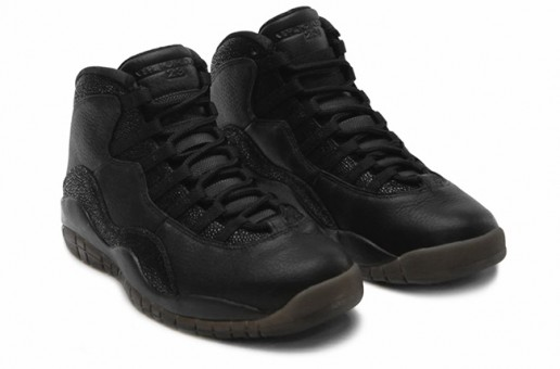 Air Jordan 10 OVO 'Black' (Photos & 2016 Release Info)