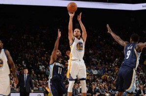 Steph Curry Scores 30 Points as the Warriors Defeat the Grizzlies by 50 (119-69)