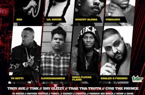 Vybe Nation Presents: H.I.T (History In Tampa) Festival Starring Nas, Lil Wayne, August Alsina, Fabolous & More (Nov. 7th)