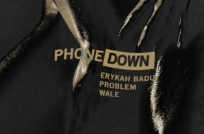 Erykah Badu – Phone Down Remix Ft. Problem & Wale