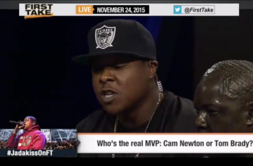 Jadakiss Visits ESPN 'First Take'! (Video)