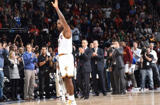 LeBron James Reaches 25,000 Points (Video)
