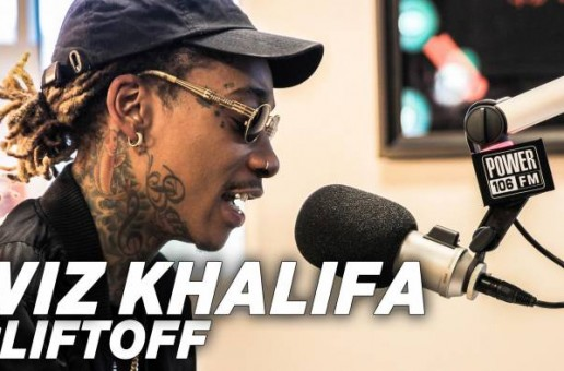 Wiz Khalifa Visits The #LiftOff To Clear Up Rumors Of 'Getting Beat Up', Rolling Papers 2, New Single, & More! (Video)