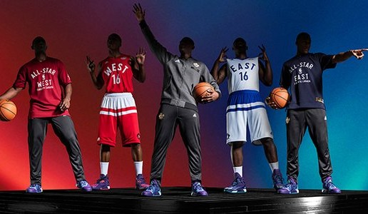 Ballin' In The 6: adidas Unveils 2016 NBA All-Star Uniforms (Photos)