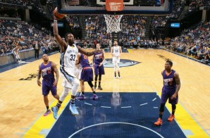 Grown Man Moves: Grizzles Star Jeff Green Slams Home the Game-Winning Oop vs. the Phoenix Suns (Video)