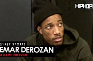 Sideline Stories: DeMar DeRozan Talks Working with Drake, All-Star Weekend in Toronto, Possibly Joining the Slam Dunk Contest & More (Video)