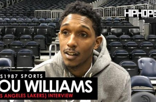 Lou Williams Talks Returning to Philips Arena As A Laker, Kobe's Last Game in Atlanta, Mentoring D'Angelo Russell, Learning From Kobe & More (Video)
