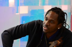 Pusha T Breaks Down The Lyrics To 'Crutches,Crosses,Caskets' With Rob Markman! (Video)