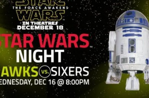 "May The Force Be With You: Stars Wars Fans Bring ""The Force"" Frenzy to Hawks vs. 76ers"
