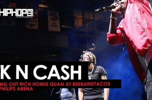 "TK N Cash Perform ""Mind Right"", ""3 In A Row"" & Bring Out Rich Homie Quan at Beer And Tacos Fest (Video)"