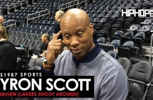 HHS1987 Sports: Los Angeles Lakers Head Coach Byron Scott Interview (Lakers Shoot-around 12/4/15)