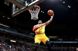 Prepare For Liftoff: LeBron James Completes A Nasty Windmill Slam Against Minnesota (Video)