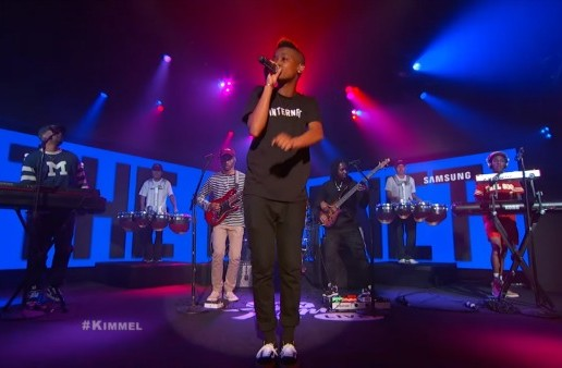 The Internet Performs 'Get Away' On Jimmy Kimmel Live! (Video)