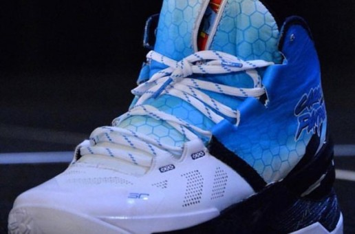"Cam Newton Rocks His Exclusive Under Armour Curry Two ""Carolina Panthers"" (Photos)"