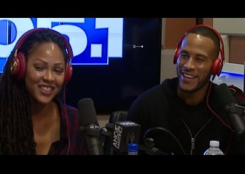 "Meagan Good & Devon Franklin Interview With Angie Martinez To Talk New Book ""The Wait"" (Video)"