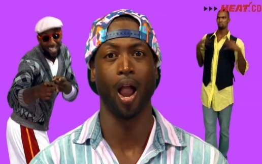 "The Miami Heat Do A Hilarious Recreation Of The ""Martin"" Intro! (Video)"